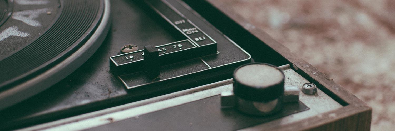 Plattenspieler Antrieb